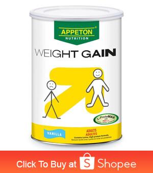 vitamins to gain weight
